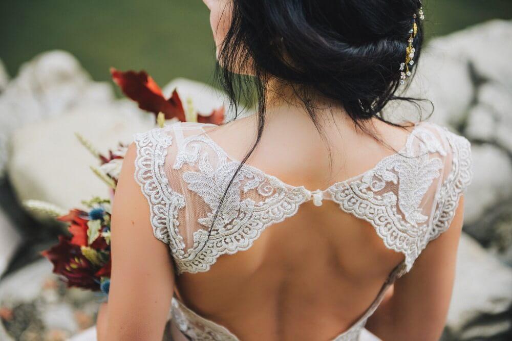 Venčanice sa otkrivenim leđima